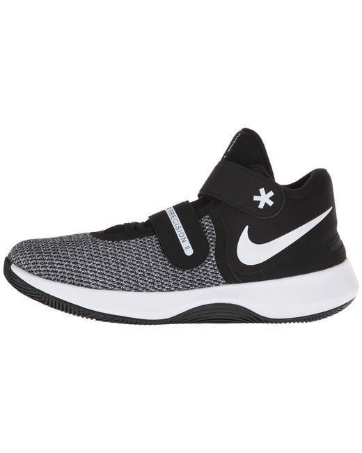 sports shoes 225e2 e28b8 ... sale nike air precision ii flyease cool grey black white photo blue  6c32b ae453