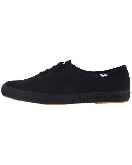f3a4d6bbc ... Keds - Black Champion-canvas Cvo (graphite) Women s Lace Up Casual  Shoes ...