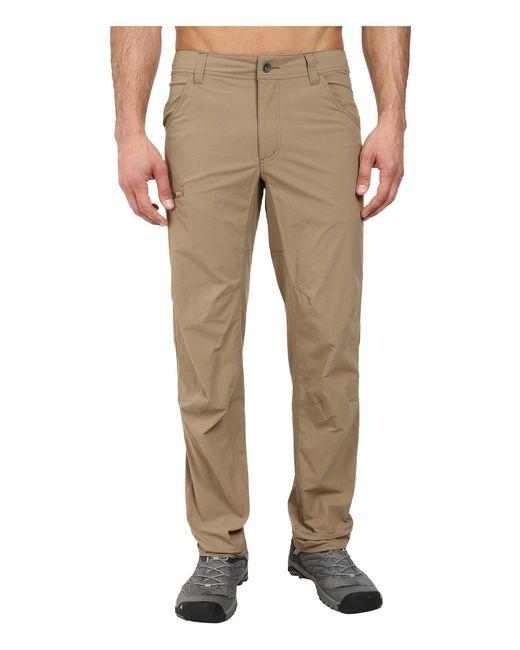 Marmot - Brown Arch Rock Pant (slate Grey) Men's Casual Pants for Men - Lyst