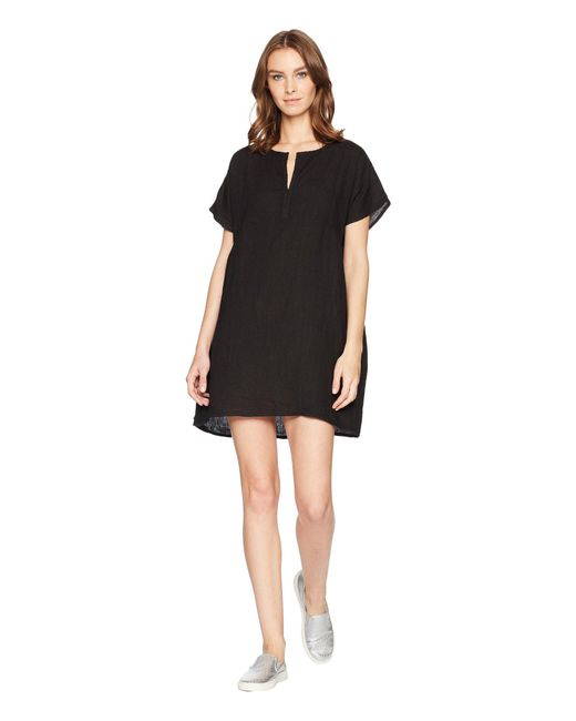 Allen Allen - Solid Boxy Pullover Dress (black) Women's Dress - Lyst