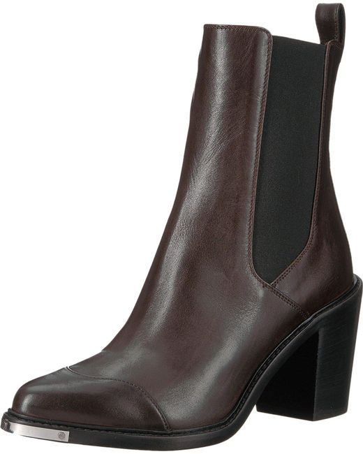 BELSTAFF Aviland Calf Leather Ankle Boots RP8HJUEU