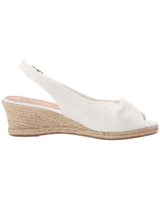 6f4a54e0326 Lyst - Bella Vita Sylvie Ii (soft Denim) Women s Shoes in White