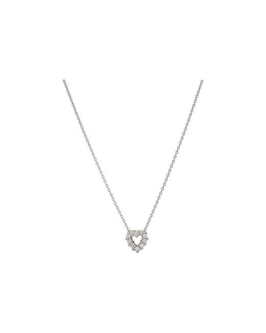Roberto Coin - Metallic Tiny Treasures Heart Necklace - Lyst