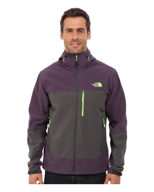 The North Face - Apex Bionic Hoodie (dark Eggplant Purple/asphalt Grey (prior Season)) Men's Coat for Men - Lyst