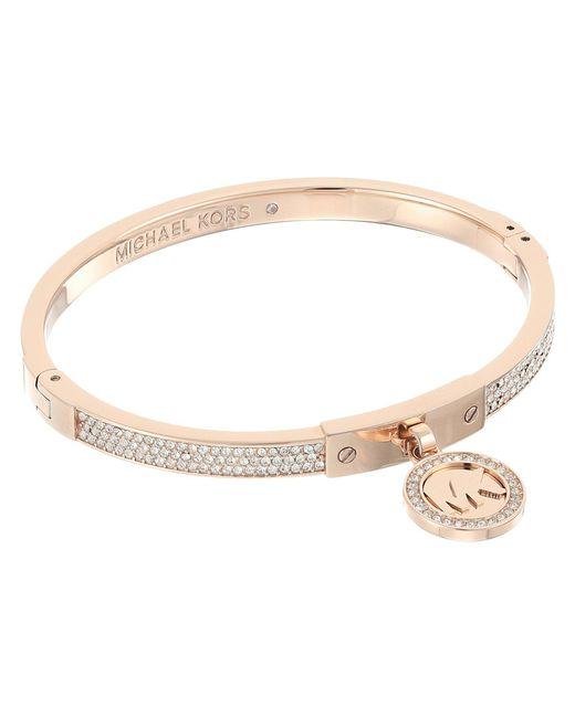 Michael Kors - Metallic Brilliance Slider Bracelet - Lyst