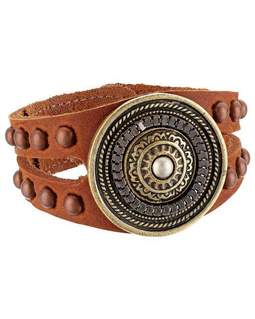 Leatherock - Aida Bracelet (brown) Bracelet - Lyst