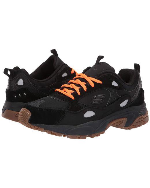 277dca1fdf2e Lyst - Skechers Stamina Contic (black) Men s Shoes in Black for Men
