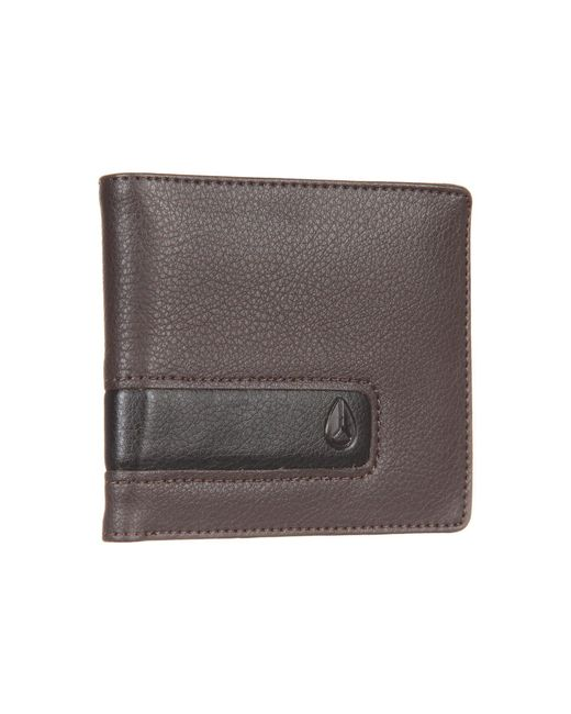 Nixon | Brown Showoff Bi-fold | Lyst