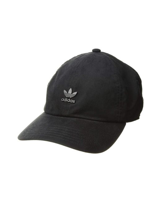 Adidas Originals - Black Originals Relaxed Metal Strapback (trace  Khaki distressed Gold) Caps ... 54a7b99fe18c