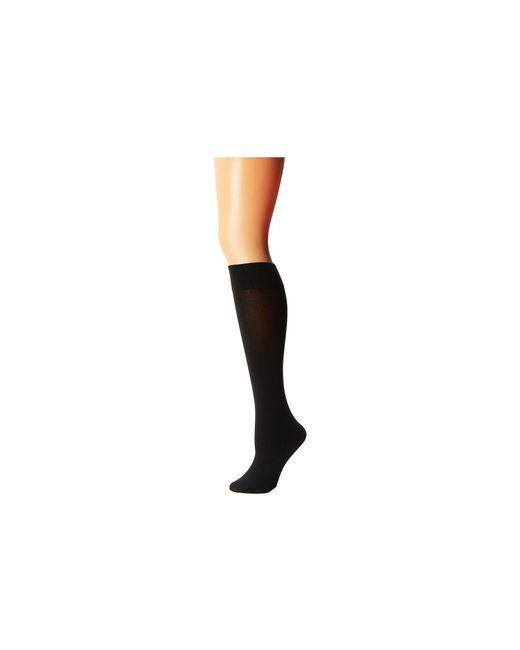 76eb415ee Wolford - Cotton Velvet Knee-highs (black) Women s Knee High Socks Shoes -