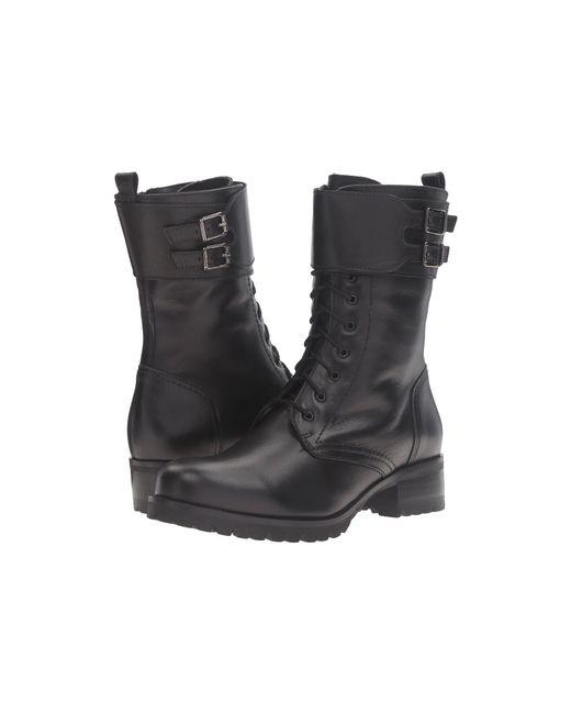 Lyst La Canadienne Clair Black Leather Women S Lace Up