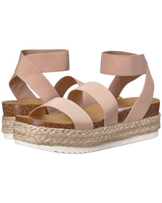7d127fc287c Steve Madden - Multicolor Kimmie Espadrille Sandal (black Multi) Women s  Shoes ...