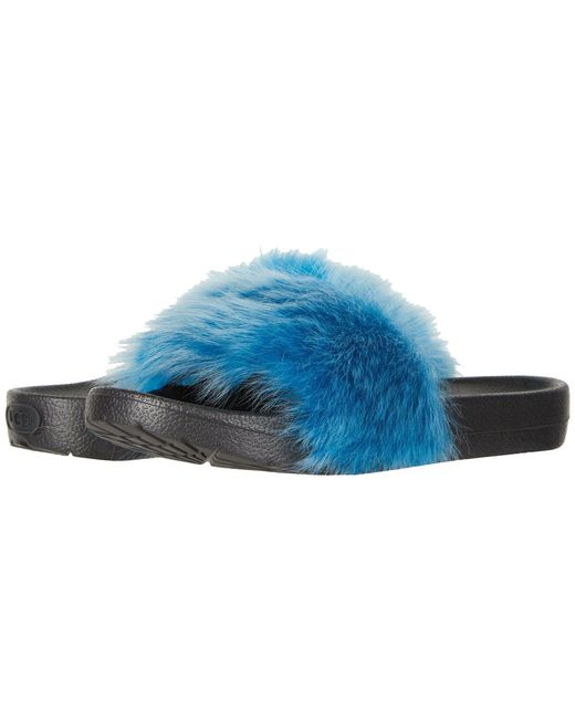 Ugg - Blue Royale Tipped (brambleberry) Women's Sandals - Lyst