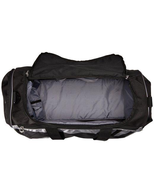 d428330bab ... Adidas - Gray Team Issue Medium Duffel (black) Duffel Bags for Men -  Lyst ...
