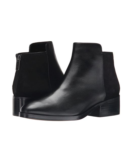 Cole Haan - Elion Bootie (black Leather) Women's Pull-on Boots - Lyst