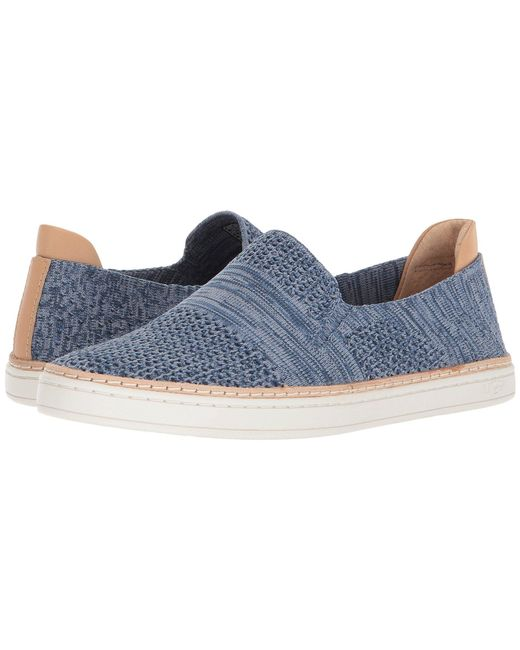 Ugg - Blue Sammy (black) Women's Flat Shoes - Lyst