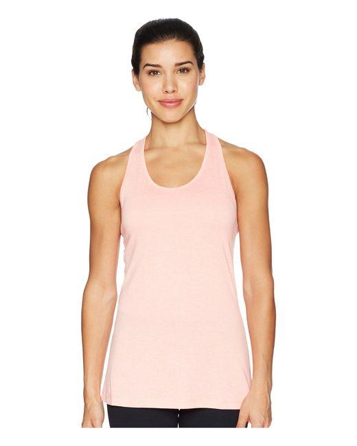 Nike - Pink Balance Cross-dye Veneer Dry Tank Top (black/cool Grey/white) Women's Workout - Lyst
