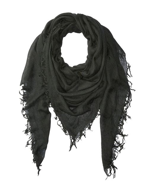 Chan Luu - Gray Cashmere And Silk Scarf (doeskin) Scarves - Lyst