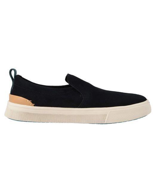 f3898405052 Lyst - TOMS Trvl Lite Slip-on (birch Canvas) Women s Shoes in Black