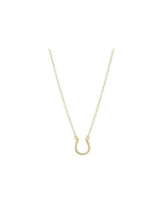 Shashi - Metallic Lucky Pendant Necklace (gold) Necklace - Lyst