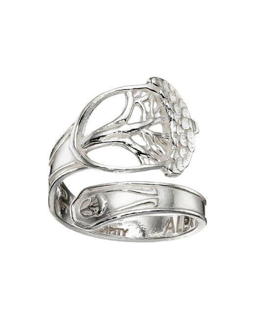 ALEX AND ANI - Metallic Spoon Ring - Lyst