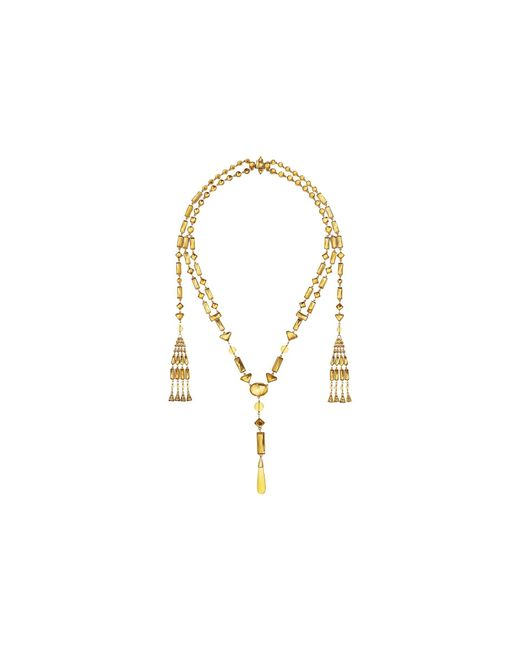 Tory Burch - Multicolor Embellished Necklace - Lyst