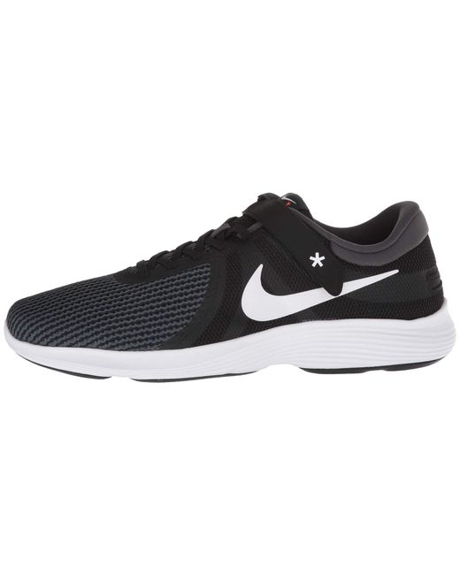 0c31d1f4f7a ... Nike - Revolution 4 Flyease (black white anthracite total Crimson) Men s  ...