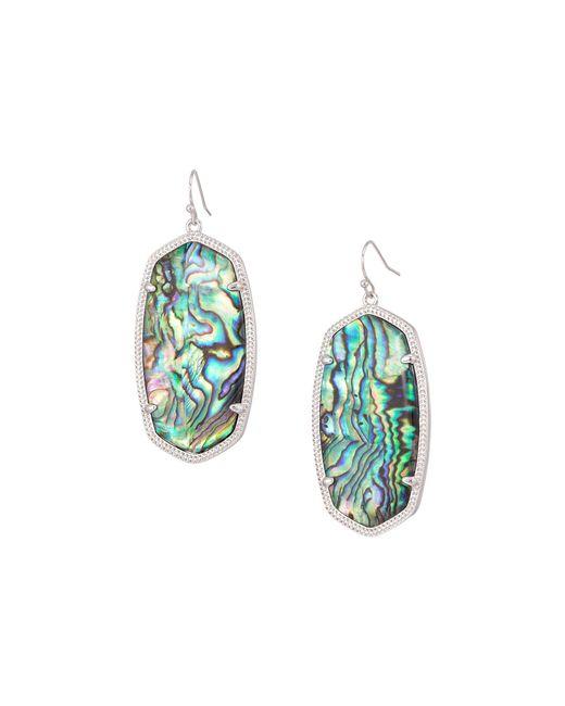 Kendra Scott - Multicolor Danielle Earrings (gold/green) Earring - Lyst