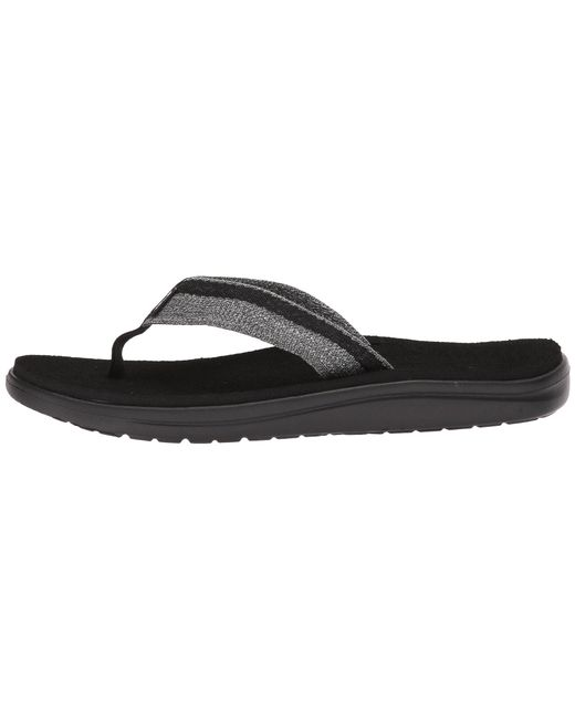 2f40a1c7d Lyst - Teva Voya Flip (brick Black) Men s Sandals in Black for Men