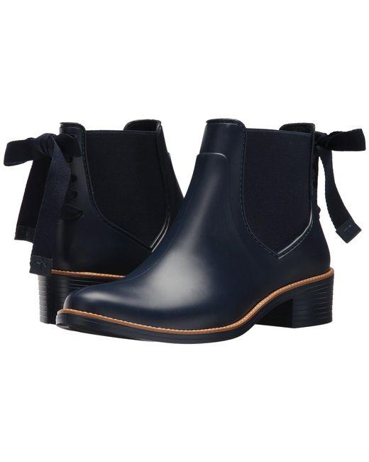 Bernardo - Blue Paxton Rain Boot (black) Women's Rain Boots - Lyst