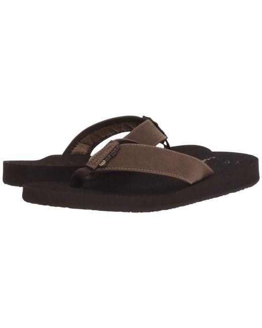 Cobian - Brown Floater (bone) Men's Sandals for Men - Lyst