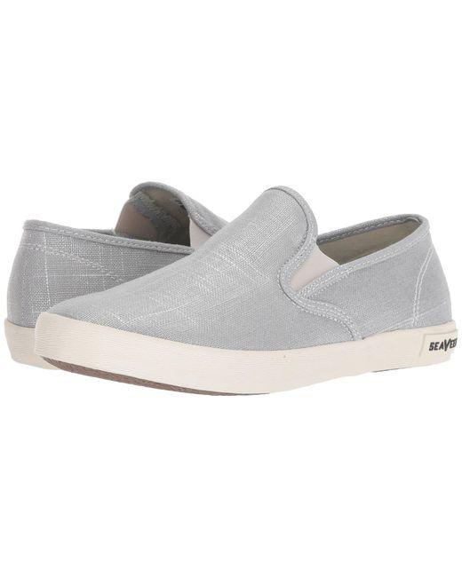 Seavees - Baja Slip-on Metallic (gold) Women's Slip On Shoes - Lyst