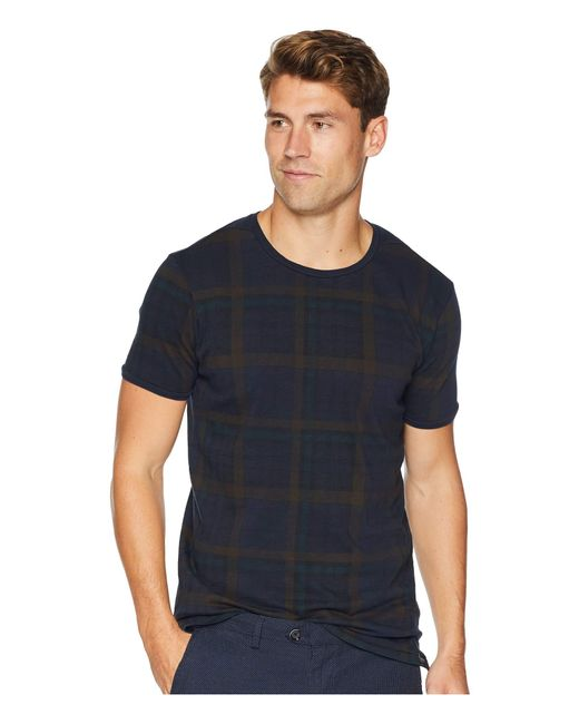 Scotch & Soda - Blue Classic Oil-washed Crew Neck T-shirt (combo D) Men's T Shirt for Men - Lyst