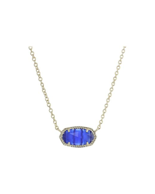 Kendra Scott - Multicolor Elisa Birthstone Necklace (june/gold/ivory Mother Of Pearl) Necklace - Lyst