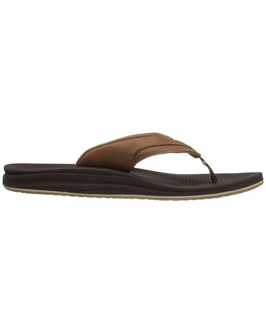 6c713f01d6d ... New Balance - Brown Purealign Recharge Thong (black grey) Men s Sandals  for Men ...