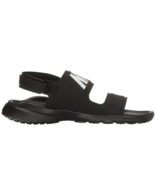 90239ba6a808fc Lyst - Nike Tanjun Sandal (black black white) Women s Shoes in Black
