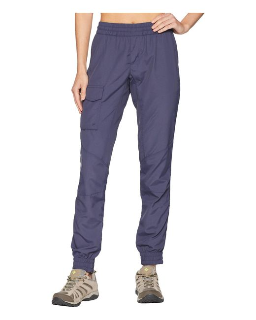 Columbia - Blue Silver Ridge Pull On Pants (truffle) Women's Casual Pants - Lyst