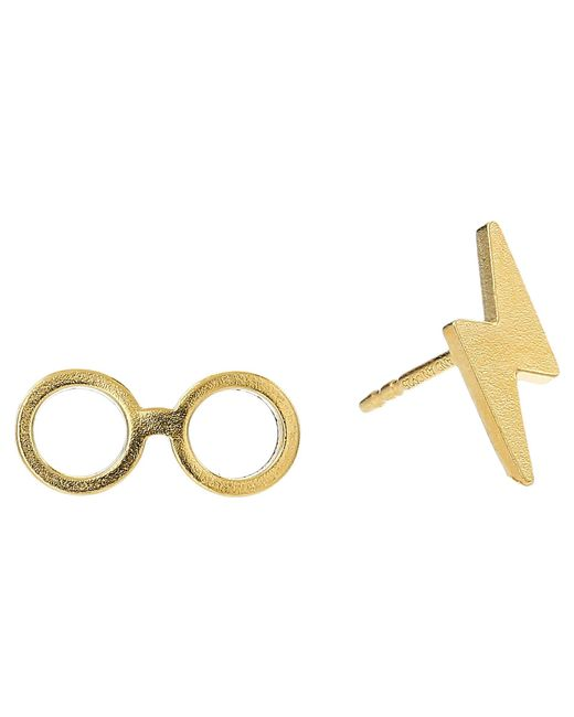 ALEX AND ANI - Metallic Harry Potter Glasses Earrings - Lyst