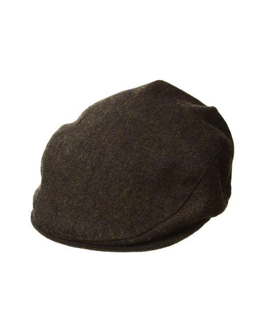 Brixton - Brown Hooligan (black Herringbone Twill) Traditional Hats for Men  - Lyst ... 29b8c5dfe5f6