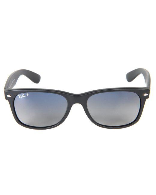 340f35b5bfd ... Ray-Ban - Black Rb2132 New Wayfarer Polarized 55mm (tortoise crystal  Green Polarized ...