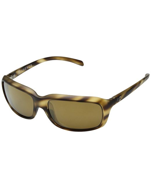 Kaenon - Monterey (driftwood Brown 12-polarized Gold Mirror) Athletic Performance Sport Sunglasses for Men - Lyst