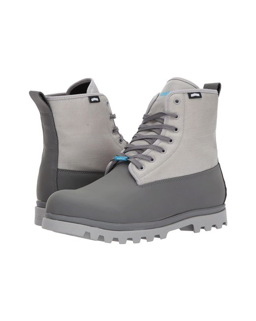 Native Shoes - Gray Johnny Treklite (dublin Grey/pigeon Grey) Shoes for Men - Lyst