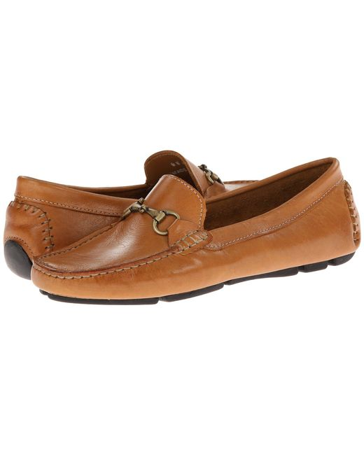 Massimo Matteo - Brown Driver With Bit (black Bison/shiny Silver) Women's Moccasin Shoes - Lyst