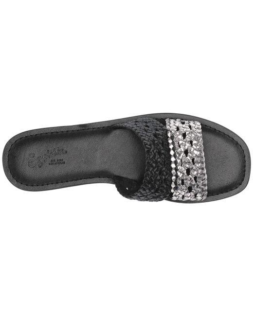 0fcc0256eff ... Seychelles - Black Everlasting (natural sand Leather) Women s Sandals  ...