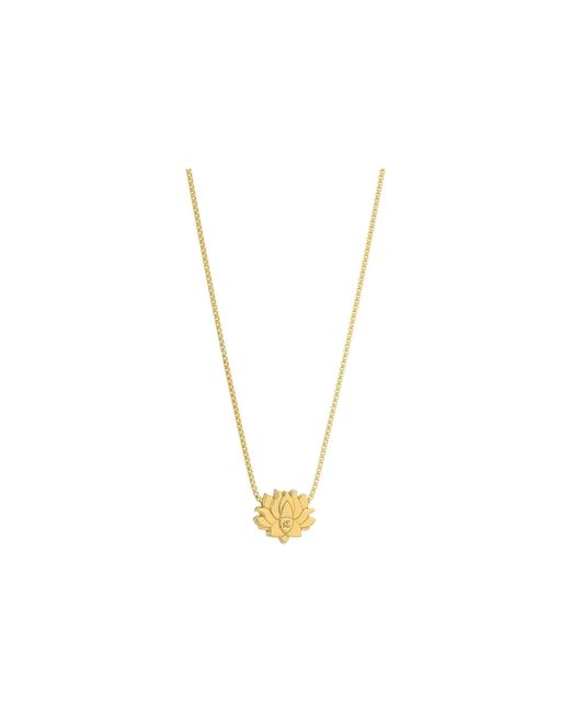 ALEX AND ANI - Metallic Lotus Peace Petals 18 Adjustable Necklace (sterling Silver) Necklace - Lyst