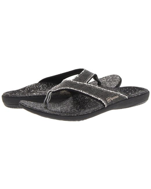 Spenco - Black Yumi Sandal - Lyst