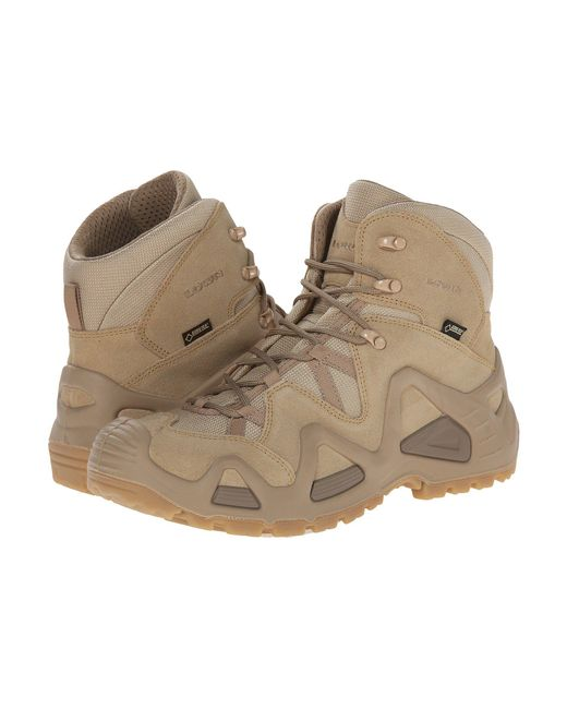 Lowa - Natural Zephyr Gtx Mid Tf (beige) Men's Shoes for Men - Lyst