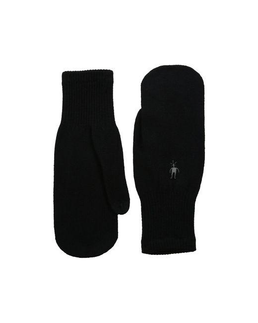 Smartwool - Knit Mitt (black) Over-mits Gloves - Lyst