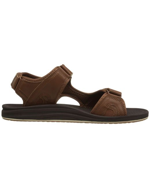 9b513daae3d8 ... Lyst New Balance - Brown Purealign Recharge Sandal (black) Men s Sandals  for Men ...