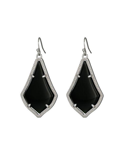Kendra Scott - Black Alex Earring (gold Chalcedony) Earring - Lyst
